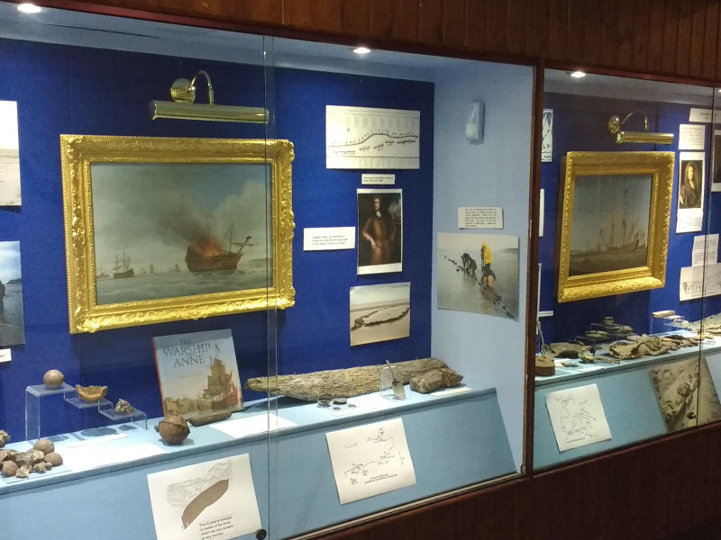 Shipwreck museum reopening day